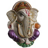 Lord Ganesh (Terracotta Sculpture)