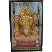 Lord Ganesh (In Glass Box)