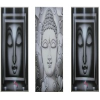 Meditating Buddha (Set of Three)