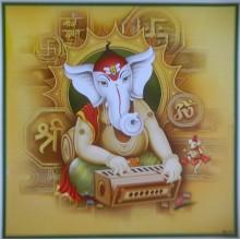 Ganesha Playing Harmonium
