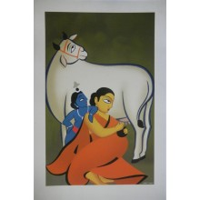 Yashoda and Krishna