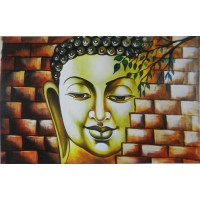 Buddha on Wall