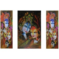 Radha Krishna (Set of Three)