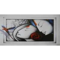 Modern Art - Radha Krishna