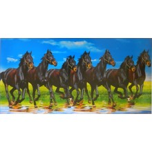 Seven Black Horses