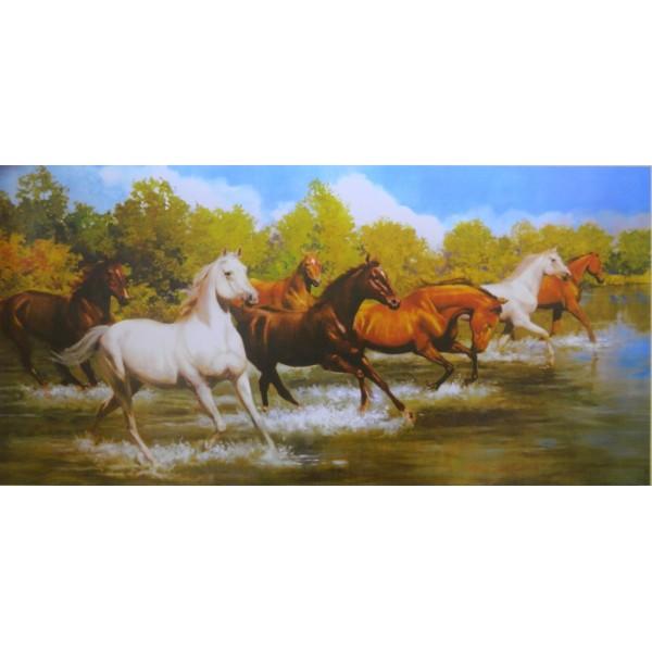 Seven Horses Running Pictures As Per Vastu